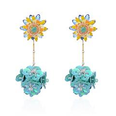 preiswerte Ohrringe-Damen Tropfen-Ohrringe - Blume Natur, Modisch Regenbogen Für Zeremonie / Karnival
