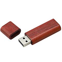 preiswerte USB Speicherkarten-Ants 2GB USB-Stick USB-Festplatte USB 2.0 Hölzern Quader Hüllen