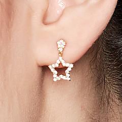 preiswerte Ohrringe-Damen Ohrstecker - 18K vergoldet, S925 Sterling Silber Seestern Zierlich, Süß Gold Für Alltag Valentinstag