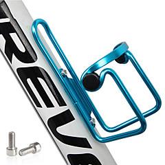 お買い得  ボトル&ボトルホルダー-水ボトルケージ 携帯用, 非変形, 耐久 戸外運動 / バイク Aluminum Alloy ブラック / レッド / ブルー - 1 pcs