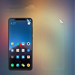 Недорогие Защитные плёнки для экранов Xiaomi-Nillkin Защитная плёнка для экрана для XIAOMI Xiaomi Mi 8 PET 1 ед. Протектор объектива спереди и камеры Ультратонкий / Матовое стекло / Защита от царапин