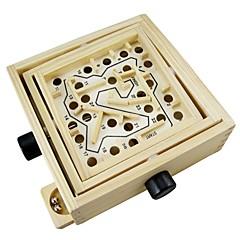abordables Puzzle Juguetes-Laberintos magnéticos Alivio del estrés y la ansiedad De madera Niño Regalo