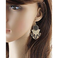 preiswerte Ohrringe-Damen Crossbody Tropfen-Ohrringe - Birne Grundlegend, Modisch Gold / Braun Für Alltag / Verabredung
