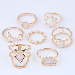 preiswerte Ringe-Damen Hohl Ring-Set - Stilvoll, Einfach, Europäisch 7 Gold Für Normal