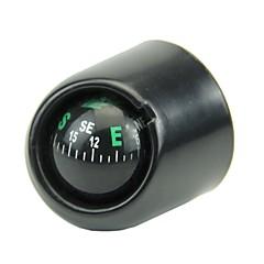 Недорогие Брелоки-поворотный компас приборная панель приборная панель морской морской грузовик автомобиль черный со светодиодной подсветкой компасов