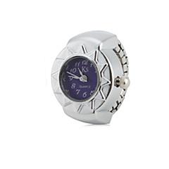 お買い得  大特価腕時計-女性用 リングウォッチ 日本産 クォーツ カジュアルウォッチ 合金 バンド ヴィンテージ シルバー - レッド ブルー ピンク