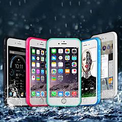 Недорогие Кейсы для iPhone 6 Plus-Кейс для Назначение Apple iPhone X / iPhone 8 Plus Водонепроницаемый / Защита от удара Чехол Однотонный Мягкий ТПУ для iPhone X / iPhone 8 Pluss / iPhone 8