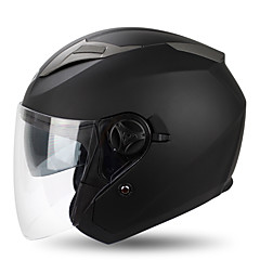 tanie Części do motocykli i quadów-YOHE YH-868 Braincap Doroślu Unisex Kask motocyklowy Oddychający / Dezodorant / Anty pot