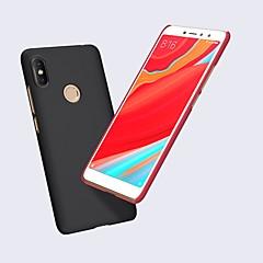 Недорогие Чехлы и кейсы для Xiaomi-Кейс для Назначение Xiaomi Redmi S2 Матовое Кейс на заднюю панель Однотонный Твердый ПК для Xiaomi Redmi S2