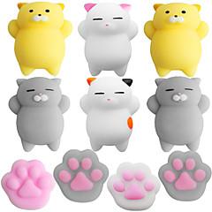abordables Productos Anti-Estrés-LT.Squishies Juguetes para apretar / Antiestrés Gato / Garra de gato Alivio del estrés y la ansiedad / Juguetes de descompresión Caucho