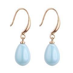 preiswerte Ohrringe-Damen Synthetischer Tansanit Tropfen-Ohrringe - Harz Tropfen Süß, Modisch Purpur / Hell Orange / Blau Für Party / Geburtstag