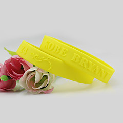 preiswerte Armbänder-Herrn 3D Hologramarmband - Einfach, Beiläufig / sportlich, Modisch Armbänder Gelb / Rot / Blau Für Geschenk Schultaschen