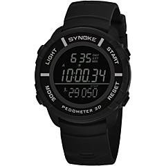 お買い得  メンズ腕時計-SYNOKE 男性用 スポーツウォッチ デジタルウォッチ デジタル ブラック / グレー / ネービー 50 m 耐水 カレンダー クロノグラフ付き デジタル ファッション - ダークブルー グレー グリーン / ストップウォッチ / 夜光計