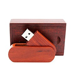 お買い得  USBメモリー-Ants 8GB USBフラッシュドライブ USBディスク USB 2.0 ウッド / 丈 回転