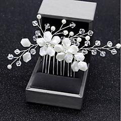 abordables Otra Joyería-Mujer Cruzado Peine - Simple Floral
