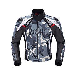 abordables Chaquetas para Moto-DUHAN Ropa de moto ChaquetaforDe Hombres Tejido Oxford Invierno