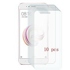 Недорогие Защитные плёнки для экранов Xiaomi-Защитная плёнка для экрана для XIAOMI Xiaomi Mi 5X Закаленное стекло 10 ед. Защитная пленка для экрана Уровень защиты 9H / Защита от царапин