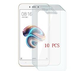 Недорогие Защитные плёнки для экранов Xiaomi-Защитная плёнка для экрана для XIAOMI Redmi 5A Закаленное стекло 10 ед. Защитная пленка для экрана Уровень защиты 9H / Защита от царапин