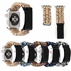 levne Apple Watch příslušenství-Watch kapela pro Apple Watch Series 4/3/2/1 Apple Kožená smyčka Pravá kůže Poutko na zápěstí
