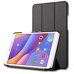 お買い得  タブレット用ケース-PUレザー ソリッド タブレットケース Lenovo