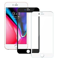 abordables Protectores de Pantalla para iPhone 6s / 6-Protector de pantalla para Apple iPhone 6s Vidrio Templado 1 pieza Protector de Pantalla Frontal Dureza 9H / Borde Curvado 2.5D / A prueba de explosión
