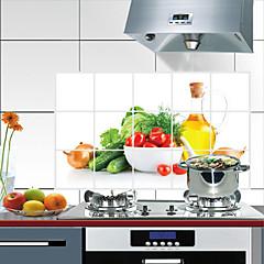 お買い得  キッチン清掃用品-キッチン クリーニング用品 PVC 防油ステッカー 防汚処理 / 防水 1個