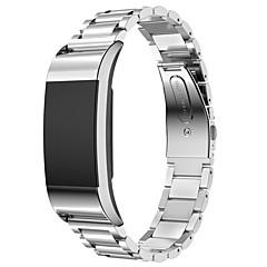 ieftine -Uita-Band pentru Fitbit Charge 2 Fitbit Banderola Sport Oțel inoxidabil Curea de Încheietură