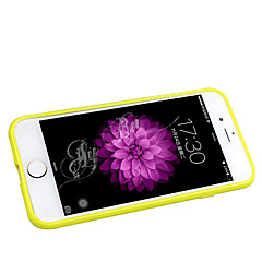 Недорогие Кейсы для iPhone 5-Кейс для Назначение Apple iPhone 6 Plus / Кейс для iPhone 5 Матовое Кейс на заднюю панель Однотонный Мягкий Силикон для iPhone 8 Pluss / iPhone 7 Plus / iPhone 6s Plus