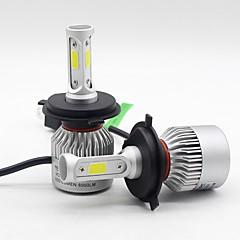 levne Přední reflektory-SO.K 2pcs 9004 / 9007 / H7 Auto Žárovky 30 W LED integrovaná / COB / High Performance LED 8000 lm 3 LED Čelovka Všechny roky