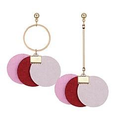 preiswerte Ohrringe-Damen Nicht übereinstimmend Unterschiedliche Ohrringe - Retro, Ethnisch, Modisch Grau / Rot / Rosa Für Party Geburtstag
