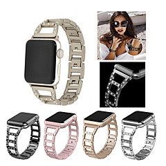 cheap -Watch Band for Apple Watch Series 3 / 2 / 1 Apple Sport Band Stainless Steel Wrist Strap