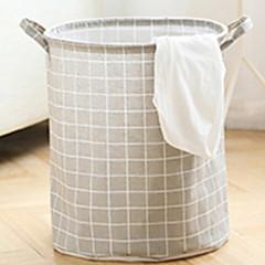 abordables Almacenamiento para Baño y Colada-Tejido Redondo Nuevo diseño Casa Organización, 1pc Bolsa y Cubo para Colada