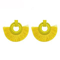 preiswerte Ohrringe-Damen Quaste Tropfen-Ohrringe - Quaste Rot / Rosa / Hellblau Für Geschenk / Alltag