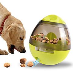 お買い得  犬用品-0.1 L L 犬用 / 猫用 フィーダ ペット用 ボウル&摂食 トレーナー / 屋外 / トラベル レッド / グリーン