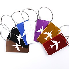 abordables Accesorios de Viaje-1pc Etiqueta para Maletas Accesorios de Equipaje para Accesorios de Equipaje Aleación de aluminio - Negro / Rojo / Dorado / Blanco / Plata