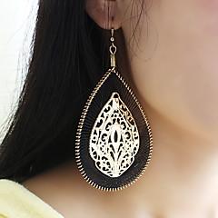 preiswerte Ohrringe-Damen Stilvoll Tropfen-Ohrringe - Tropfen, Glücklich Grundlegend, Modisch Schwarz Für Alltag / Verabredung