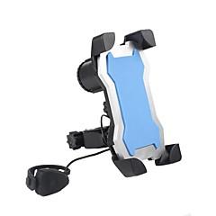 abordables Monturas y Soportes-Soportes alarma, Porta-herramienta, Teléfono Móvil Ciclismo Recreacional / Ciclismo / Bicicleta / Bicicleta El plastico Negro / Azul / Rosa - 1 pcs