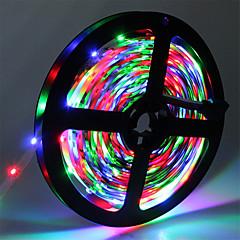 preiswerte LED Lichtstreifen-HKV 5m Flexible LED-Leuchtstreifen 300 LEDs 3528 SMD RGB Schneidbar / Verbindbar / Selbstklebend 12 V