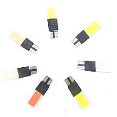 Недорогие Освещение салона авто-7pcs белый желтый синий красный зеленый розовый розовый синий смешанный пакет 5w 400lm автомобиль многофункциональный t10 светодиодная лампа