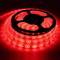 お買い得  LED ストリングライト-HKV 5m フレキシブルLEDライトストリップ 300 LED SMD5630 レッド / ブルー / グリーン カット可能 / 接続可 / ノンテープ・タイプ 12 V