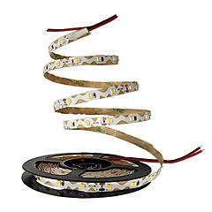 お買い得  LED ストリングライト-5m フレキシブルLEDライトストリップ 300 LED 2835 SMD 温白色 / ホワイト / レッド 装飾用 12 V 1個