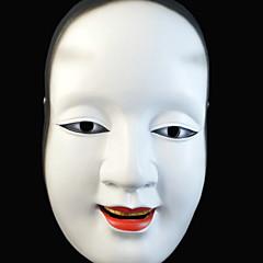 abordables Decoración del Hogar-Decoraciones de vacaciones Decoraciones de Halloween Máscaras de Halloween / Entretenimiento de Halloween Decorativa / Cool Blanco 1pc