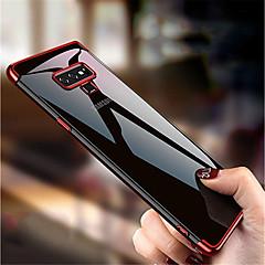 Недорогие Чехлы и кейсы для Galaxy Note 5-Кейс для Назначение SSamsung Galaxy Note 9 / Note 8 Покрытие / Полупрозрачный Кейс на заднюю панель Однотонный Мягкий ТПУ для Note 9 / Note 8 / Note 5