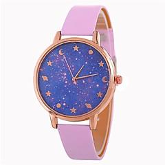 preiswerte Damenuhren-Damen Armbanduhr Chinesisch Armbanduhren für den Alltag PU Band Freizeit / Modisch Schwarz / Blau / Rot