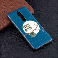 Недорогие Чехлы и кейсы для Nokia-Кейс для Назначение Nokia Nokia 5.1 / Nokia 3.1 С узором Кейс на заднюю панель Сова Мягкий ТПУ для Nokia 8 / Nokia 6 / Nokia 5