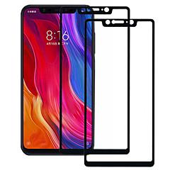 Недорогие Защитные плёнки для экранов Xiaomi-asling протектор экрана для xiaomi xiaomi mi 8 se закаленное стекло 2 шт. полный защитный экран для экрана 9 ч. твердость / 2.5d изогнутый край / взрывозащищенный