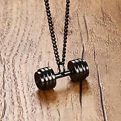 preiswerte Halsketten-Herrn Stilvoll Anhänger - Edelstahl Stilvoll, Modisch, Hip-Hop Anhänger Gold / Schwarz / Silber Für Geschenk / Alltag