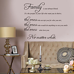cheap Wall Art-Decorative Wall Stickers - Words & Quotes Wall Stickers Characters Living Room / Bedroom / Bathroom