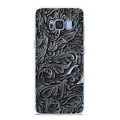 abordables Galaxy S6 Carcasas / Fundas-Funda Para Samsung Galaxy S9 Plus / S9 Diseños Funda Trasera Líneas / Olas Suave TPU para S9 / S9 Plus / S8 Plus