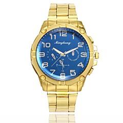 preiswerte Herrenuhren-Herrn Kleideruhr / Armbanduhr Chinesisch Neues Design / Armbanduhren für den Alltag Legierung Band Freizeit / Modisch Gold
